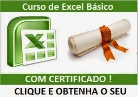 Curso de Excel Grátis com Certificado Online