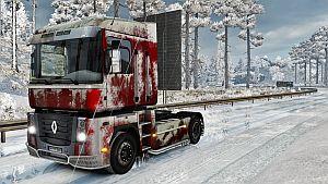 Snowy skin for Renault Magnum SCS