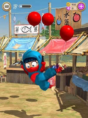 download clumsy ninja mod apk versi terbaru