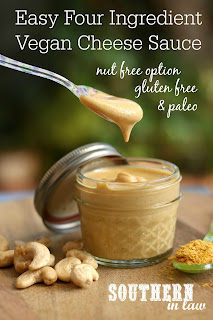 4 Ingredient Vegan Cashew Cheese Sauce Recipe
