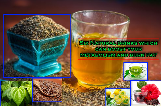 Natural drinks which can boost your metabolism and burn fat