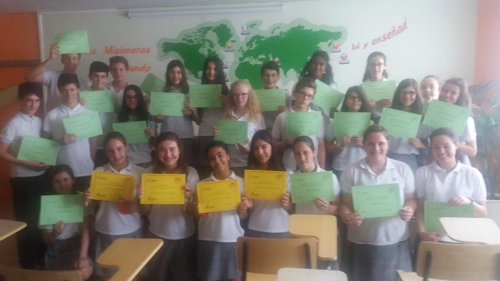 Agustinas Valladolid - 2017 - ESO - Concurso Escritura Rapida