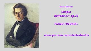 Chopin Ballata Piano Tutorial