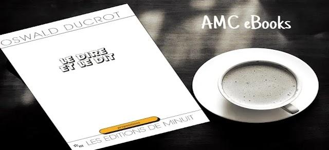 Télécharger ebook - Le dire et le dit - Livre de  - Oswald Ducrot - Format PDF gratuit