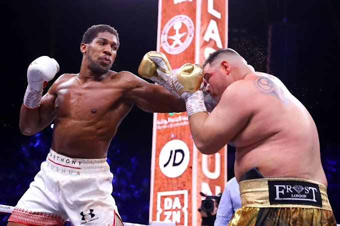 Anthony Joshua got his revenge