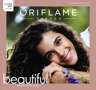 Oriflame catalogue April 2021 pdf