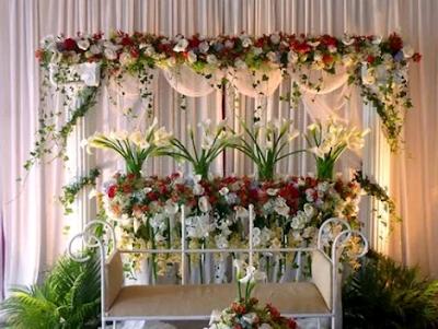 dekor pesta pernikahan