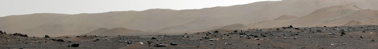 mars panaroma fotoğrafı