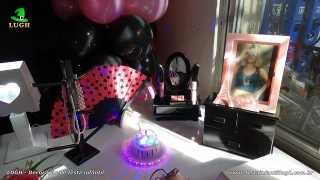 Tema Paris - Mesa temática provençal - Festa de aniversário