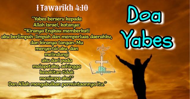 Doa Yabes Indonesia-inggris