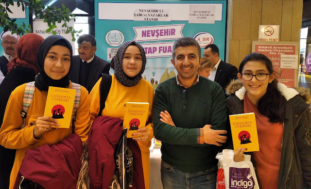 Yazar İsrafil Baran Nevşehir'de Okurlarıyla bir araya geldi