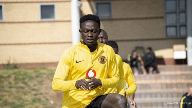 Kaizer Chiefs signing James Kotei