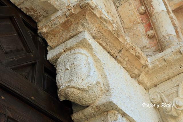 Detalle de Iglesia de Santa María de Wamba