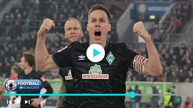 Fortuna Düsseldorf vs Werder Bremen – Highlights