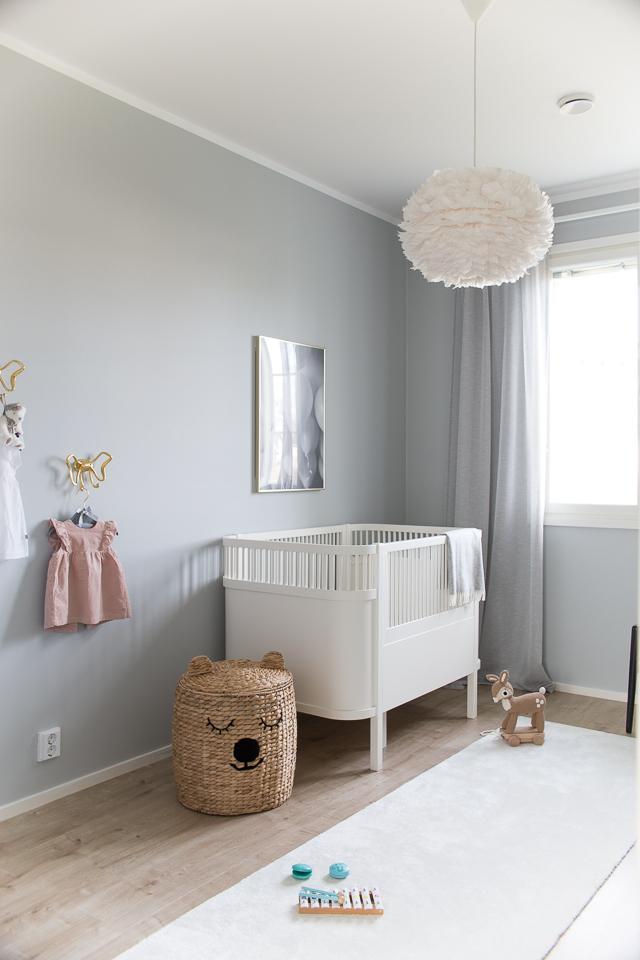 Villa H, lastenhuone, sisustus, lastenhuoneen sisustus