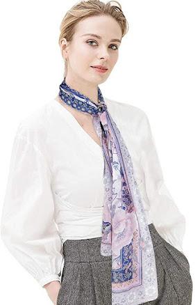Women's Long Chiffon Scarves Shawls