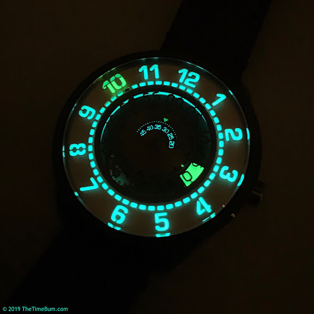 Xeric Cypher Automatic Tritium Silver Green lume