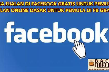 Cara pasang Iklan di Akun Facebook Gratis Terbaru