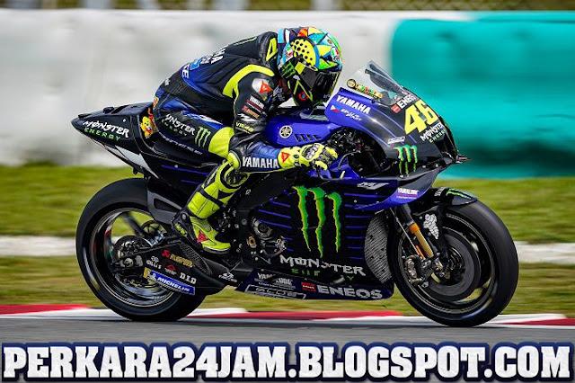 Spirit Membalap Valentino Rossi Di MotoGP Tertunda Karena Virus Corona
