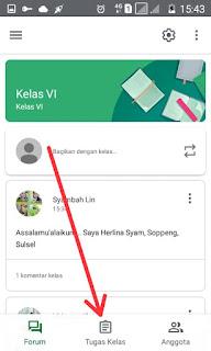 Tugas Kelas Google Classroom