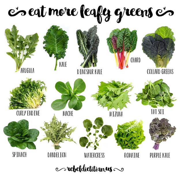Add Green Leaf Vegetables