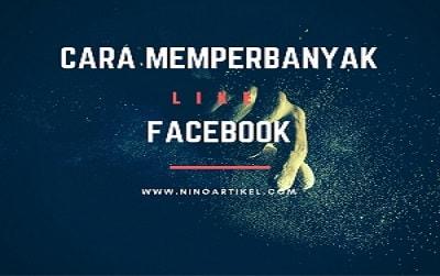 Cara Memperbanyak Like Di Facebook