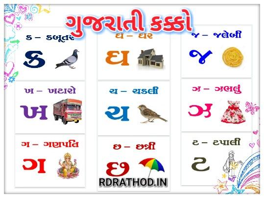 Gujarati Kakko Mulakshar PDF