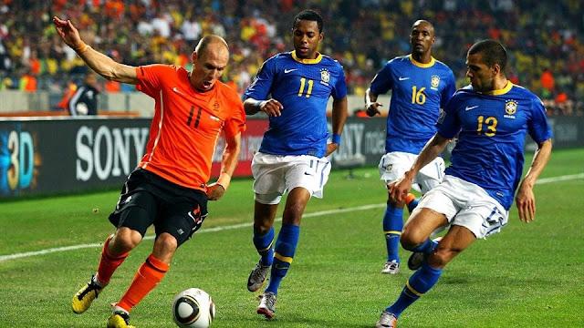 هولندا ضد البرازيل : كأس العالم 2010