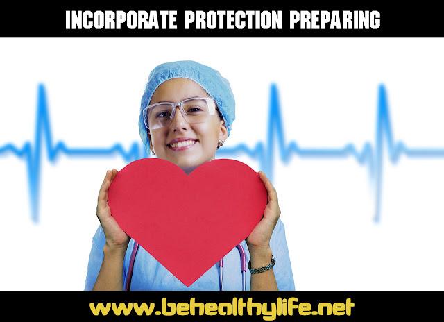 Incorporate protection preparing