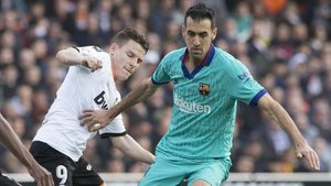 Busquets: We have to adapt to the coaching staff, we were better in 2nd half