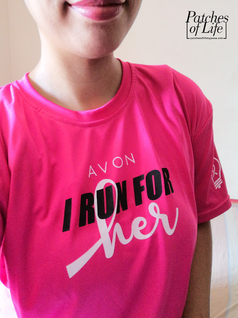 Avon I Run For Her shirt
