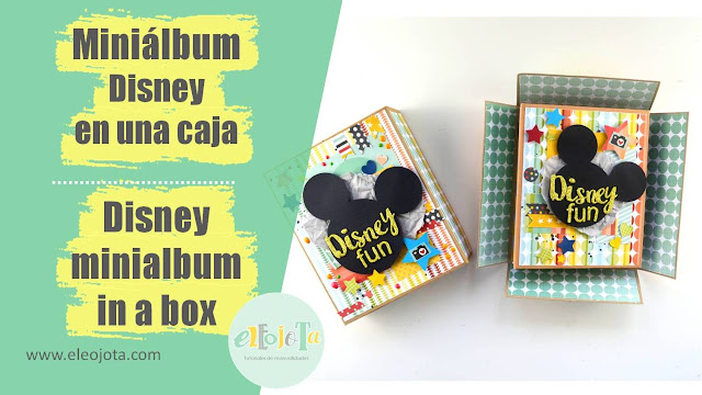 miniálbum Disney en caja