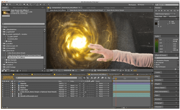Aplikasi Animasi Adobe After Effects