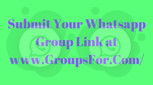 submit your whatsapp group invite link