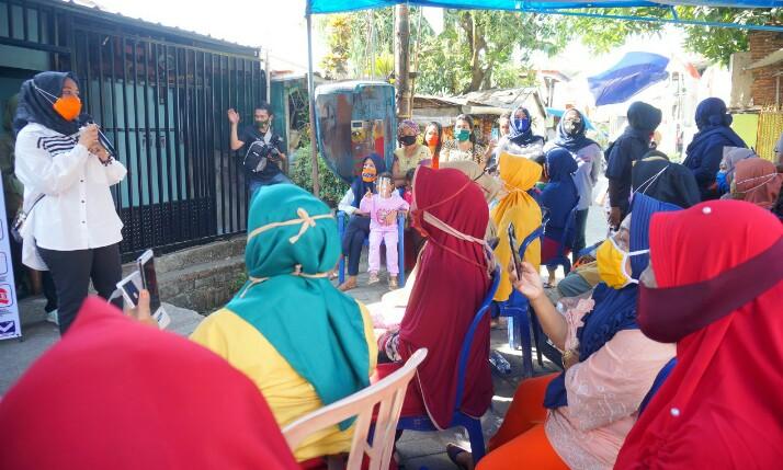 Balon Wakil Wali Kota Makassar bertatap muka dengan warga Baraya