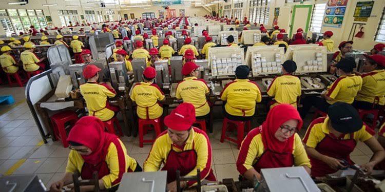 Terpapar Corona 506 Karyawan PT Sampoerna Jalani Rapid Test