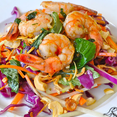 For Faster Weight Loss, Eat Shrimp Salad!