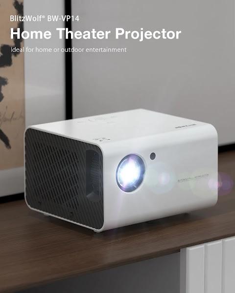 BlitzWolf BW-VP14 - Um bom projetor fullHD