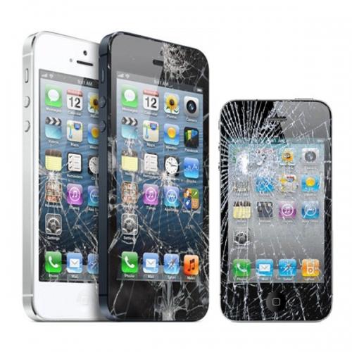 Dấu hiệu thay kính màn hình iPhone 5