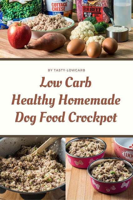 Healthy Homemade Dog Food – Low Carb