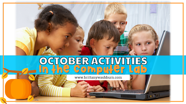 October Activities for the Computer Lab