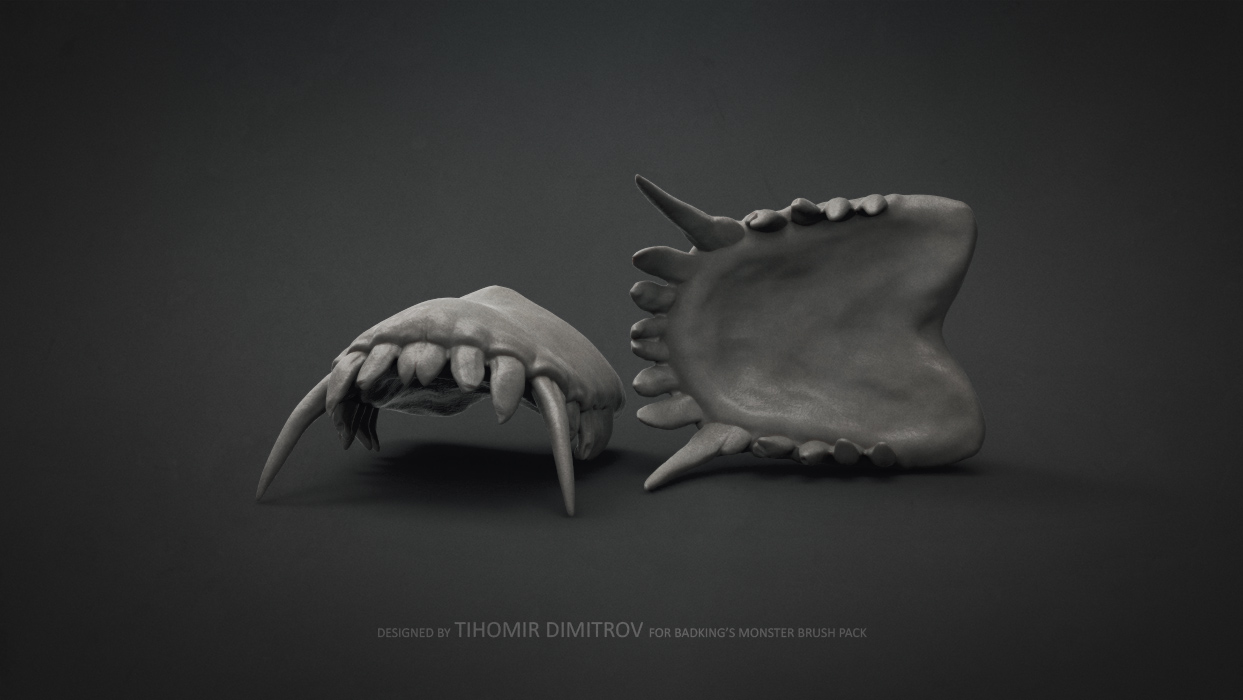 Download Monster ZBrush brushes FREE | Computer Graphics