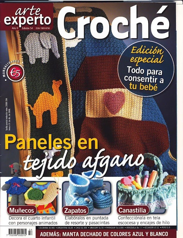 Arte Crochê Edição Especial Bebês-Ano9-N°54