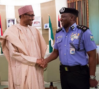 Buhari and Police IG