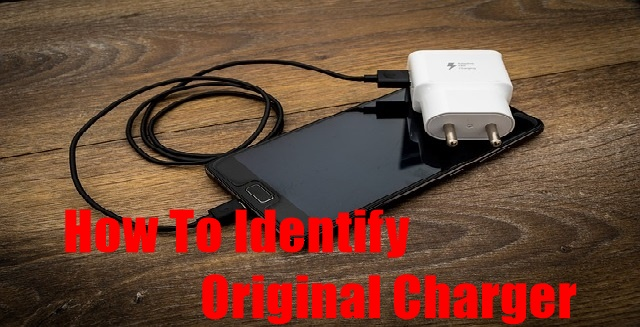 How To Identify Original Charger