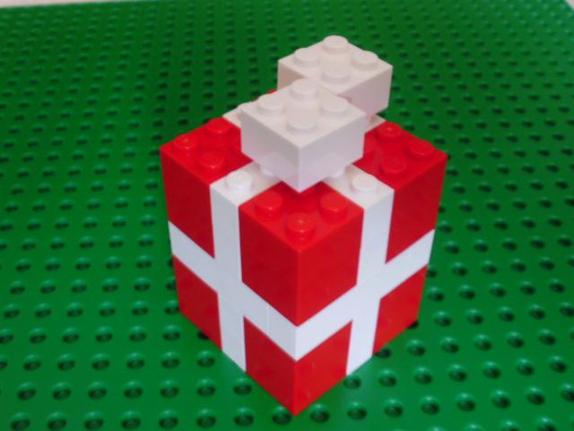 MOC LEGO prendas de Natal