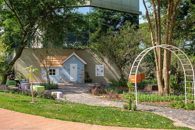 Homenagem a Beatrix Potter no Memorial Inglês