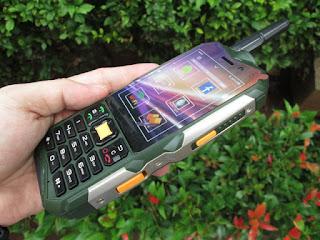 Spesifikasi Hape Antik Prince PC118 Android Keypad Touchscreen