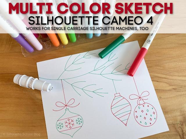 silhouette 101, silhouette america blog, cameo 4, silhouette cameo 4 tutorials, sketch pen