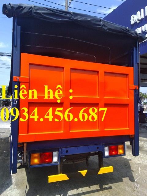 Xe chở bình ga Hyundai HD120sl